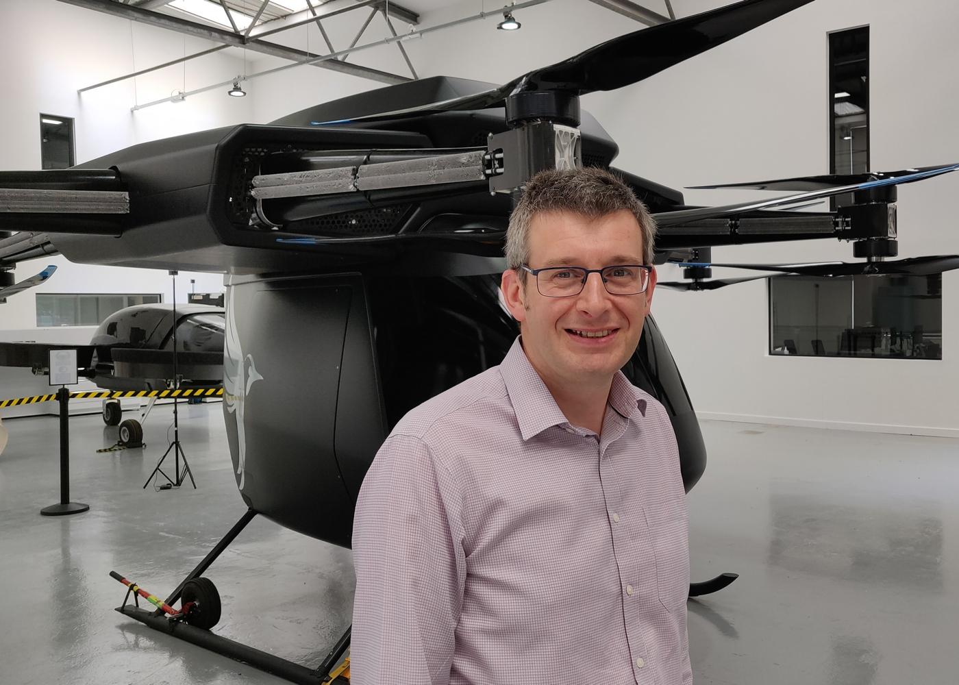 Dean Moore Vertical Aerospace