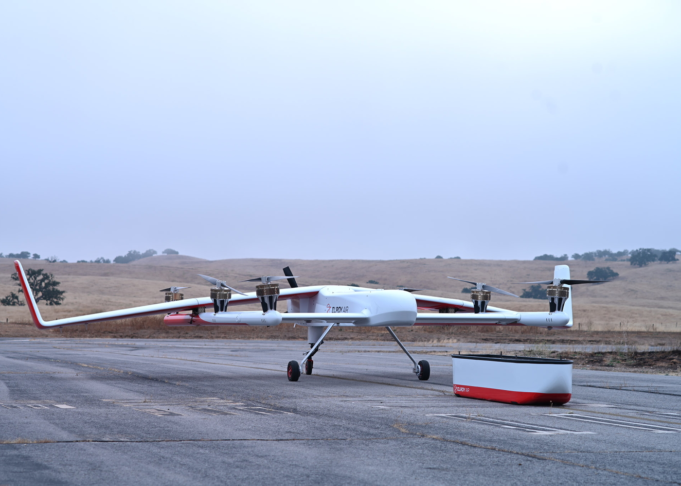 Elroy Air Chaparral cargo drone