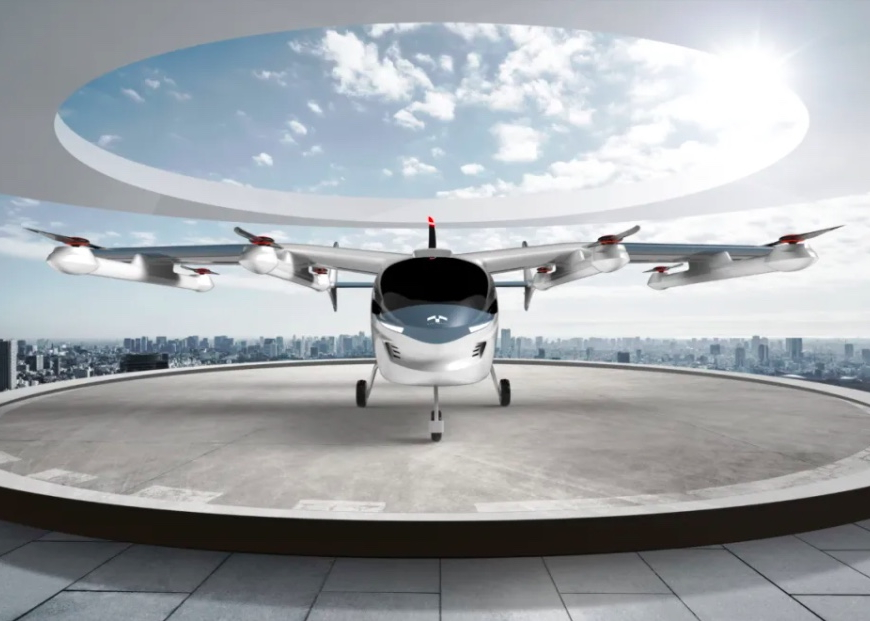Geely Terrafugia TF-2A eVTOL concept