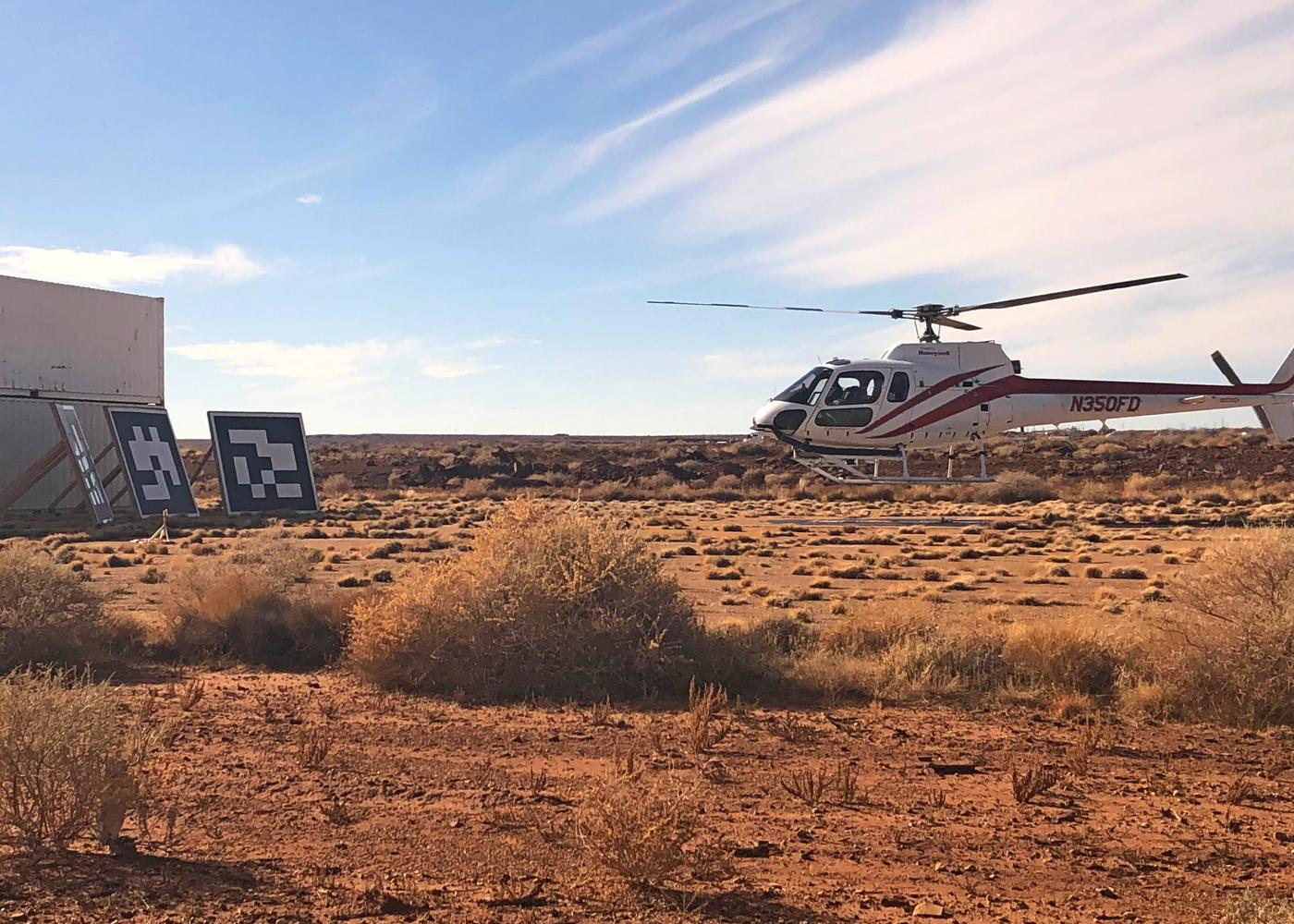 Honeywell automated landing tests