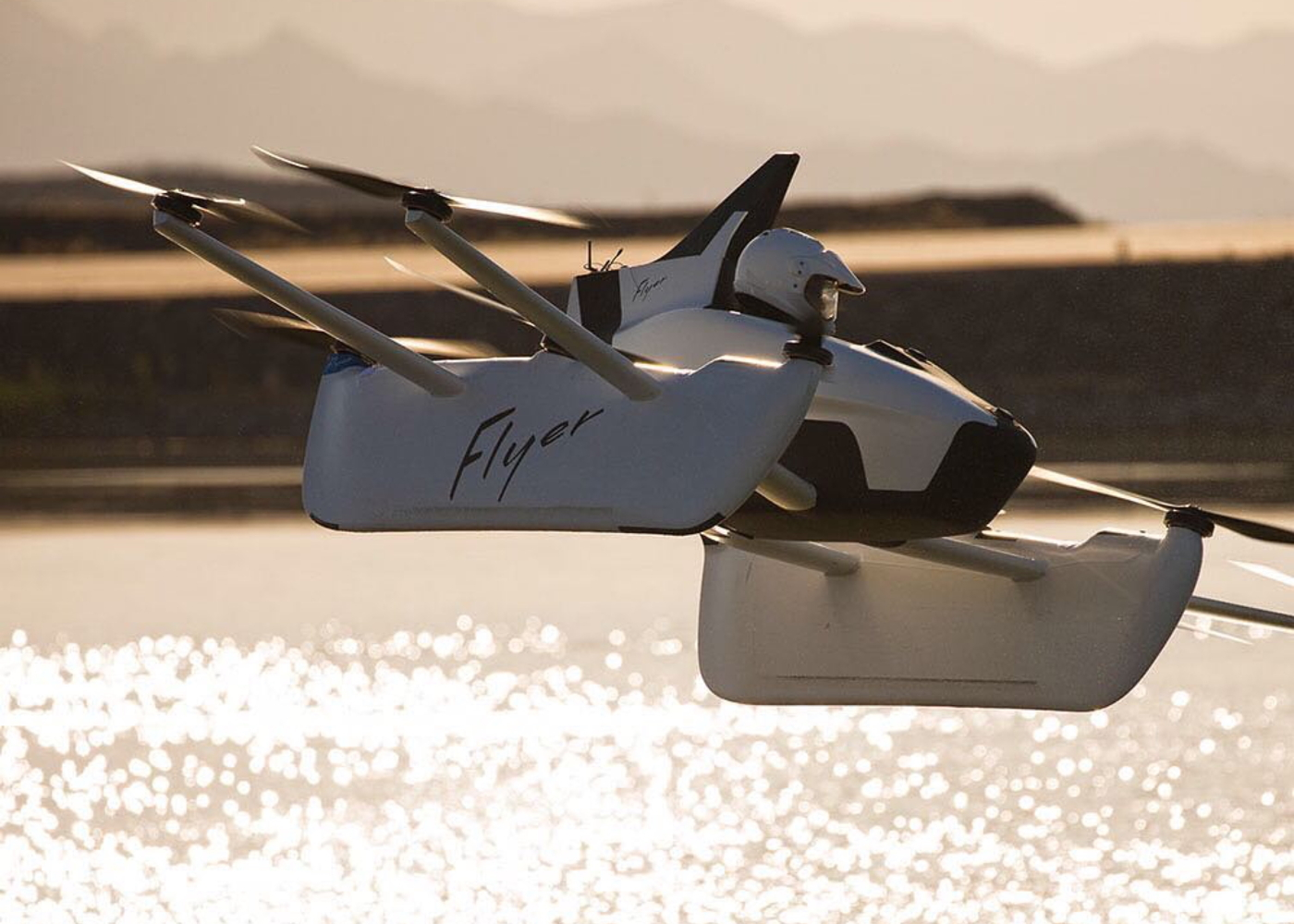 Kitty Hawk Flyer eVTOL