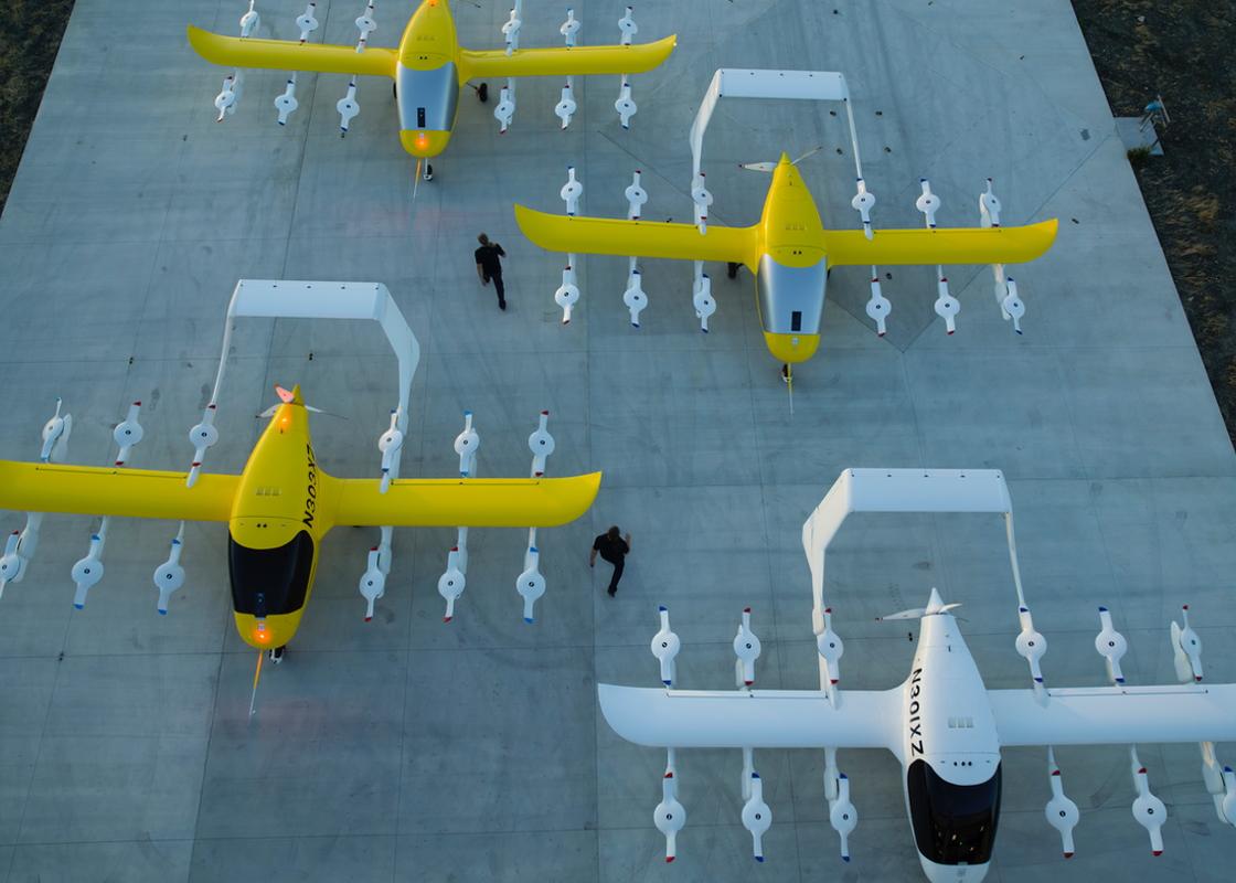 Wisk Cora eVTOL fleet