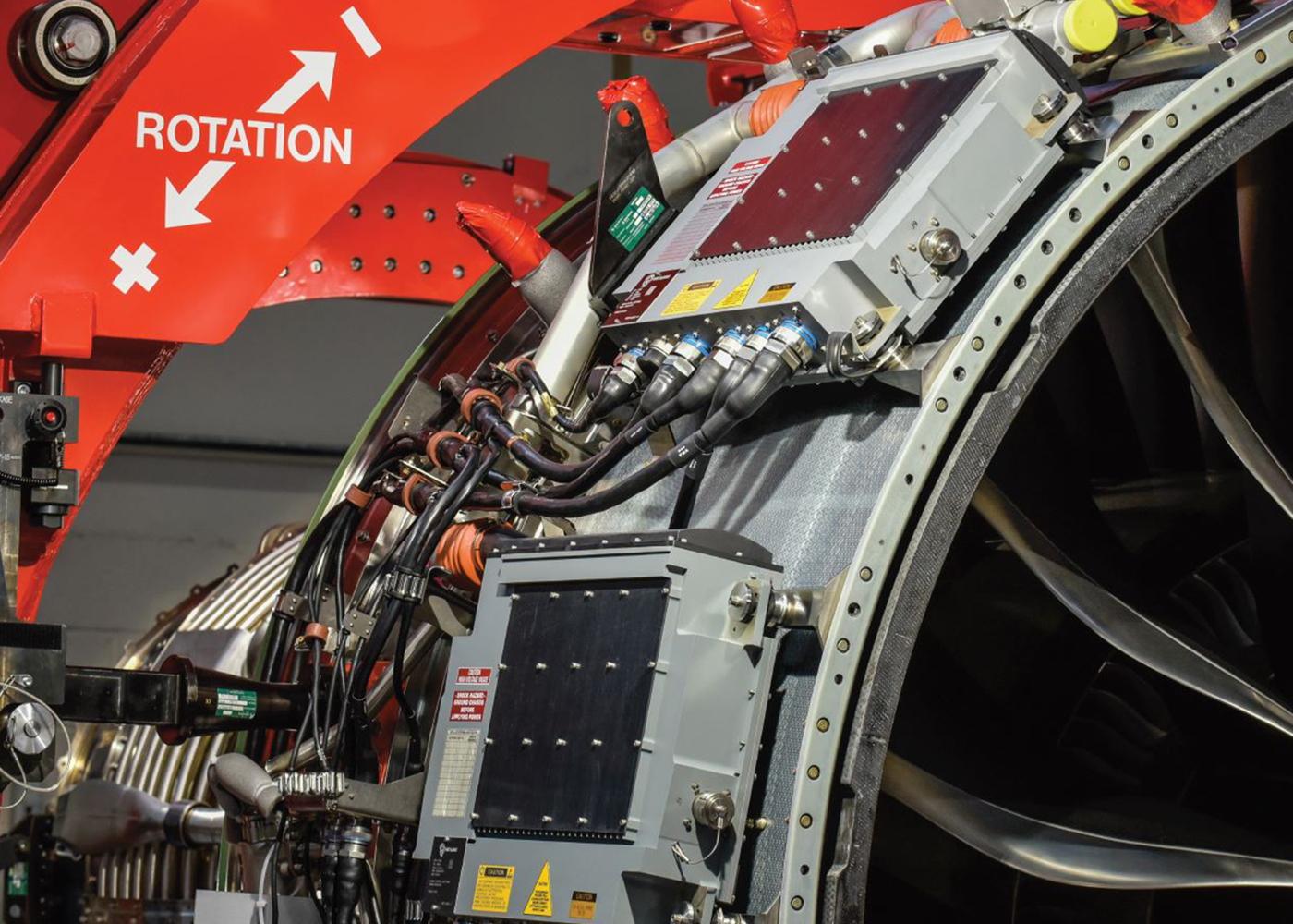 BAE digital engine controls