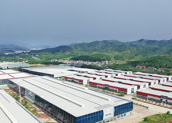 EHang production facility Yunfu city
