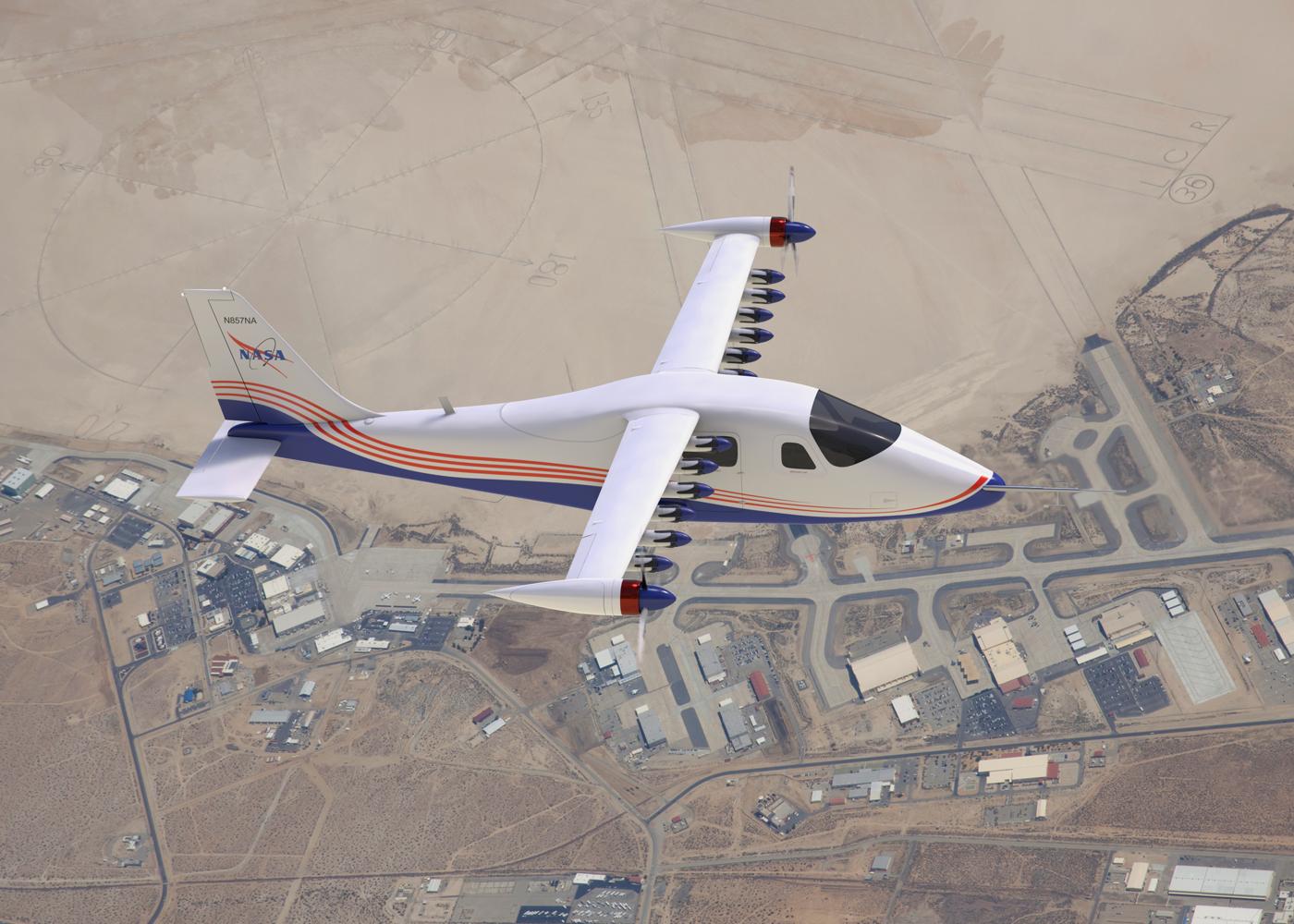 ESAero X-57 Maxwell