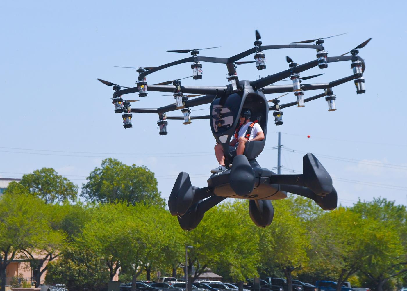 LIFT Aircraft Hexa eVTOL Agility Prime demo
