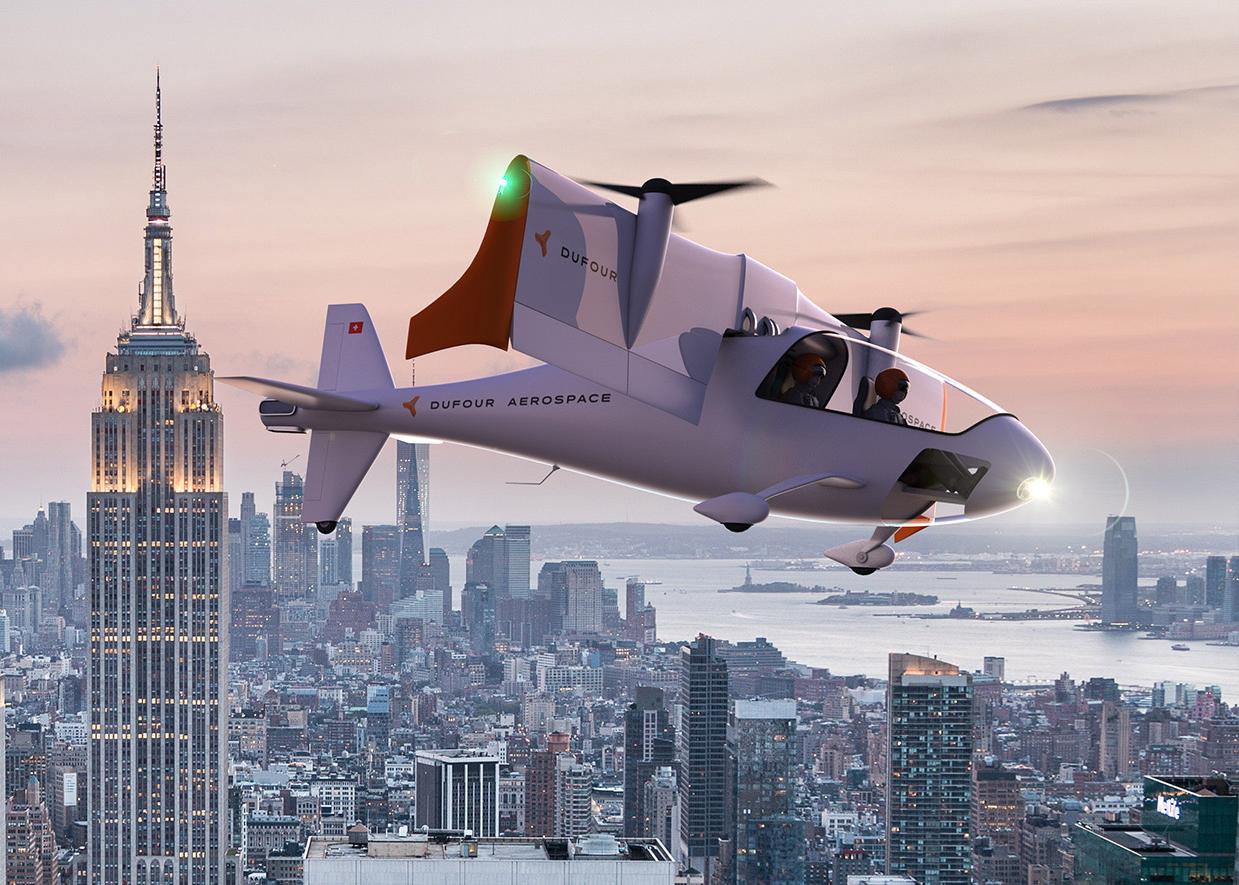 Dufour Aerospace aEro 3 eVTOL
