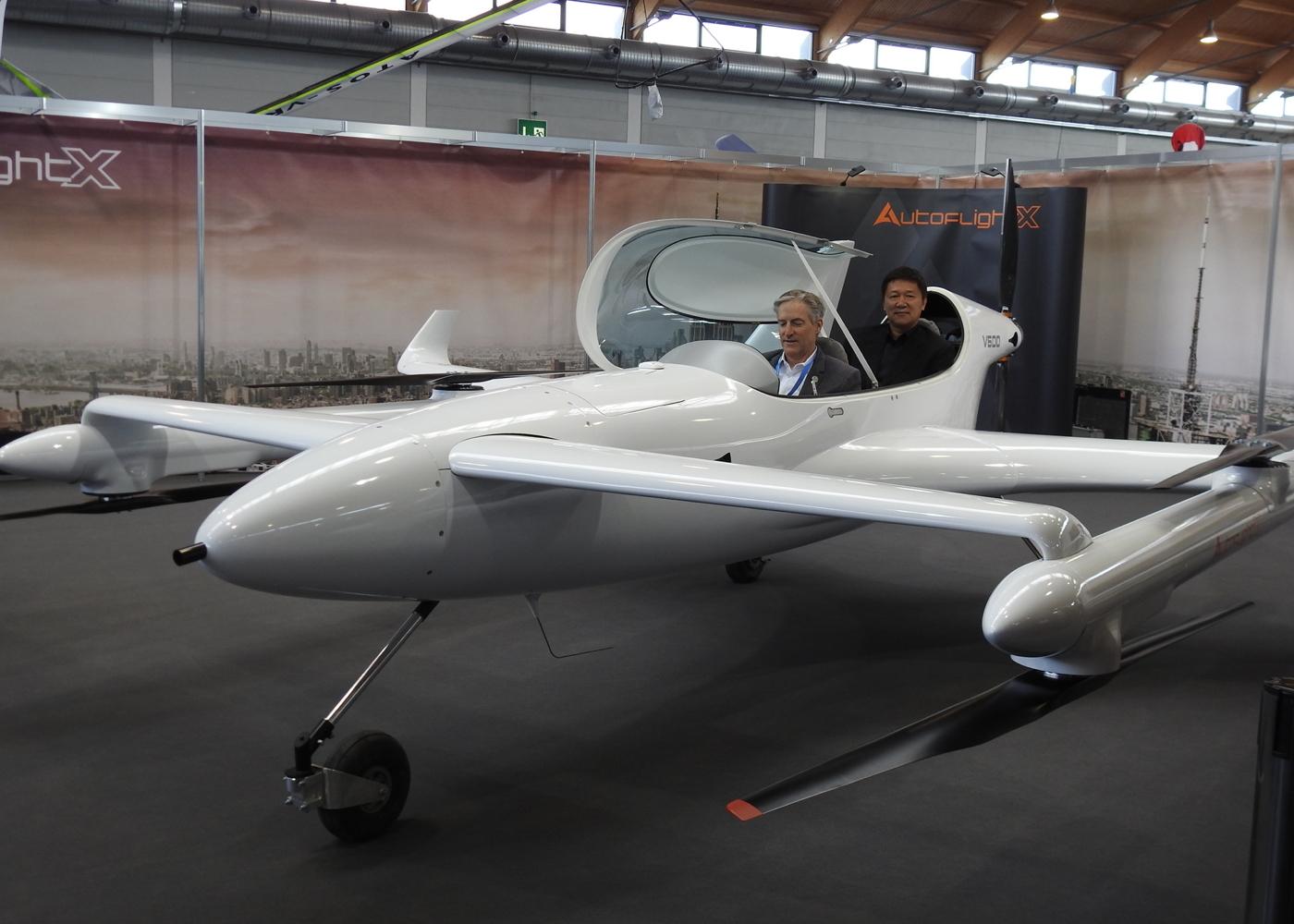 Autoflight V600 prototype
