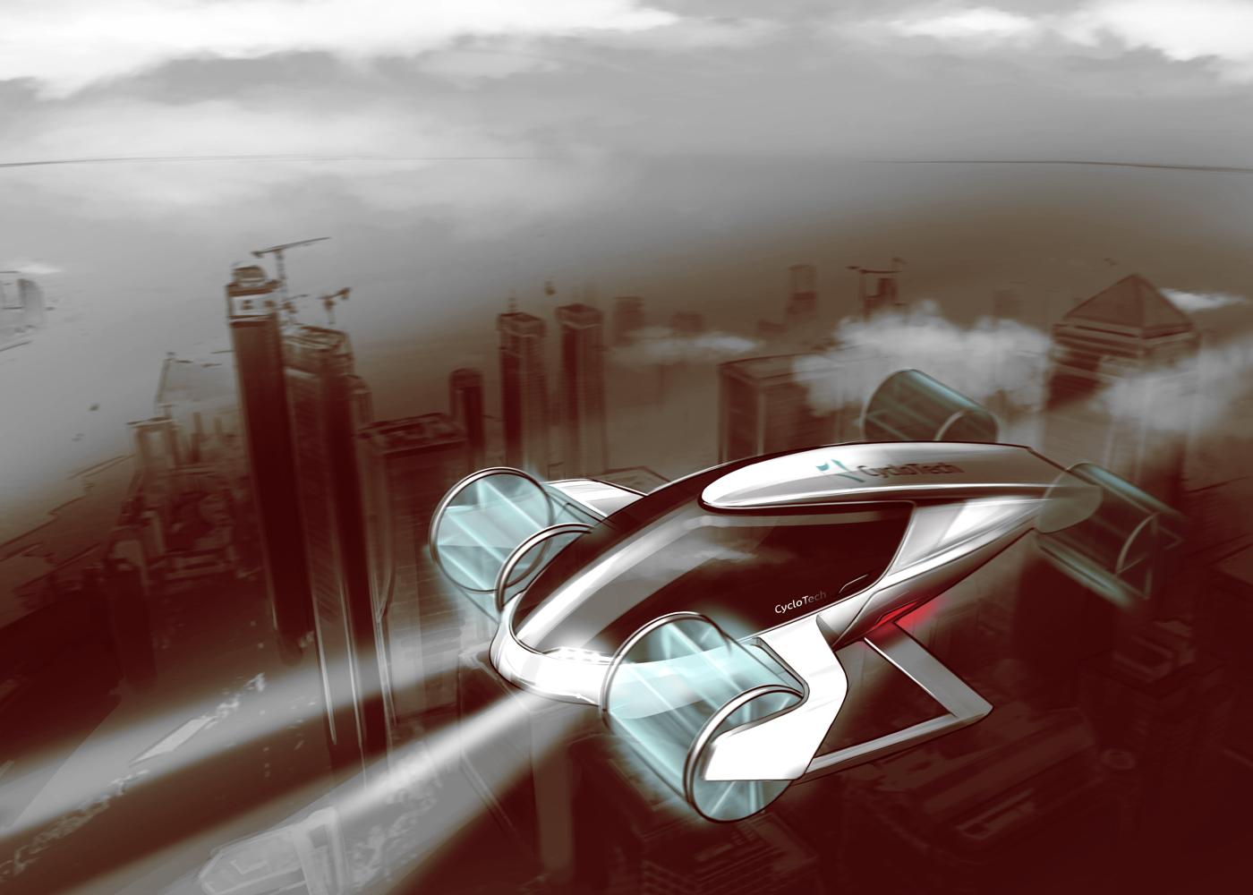 CycloTech eVTOL air taxi concept