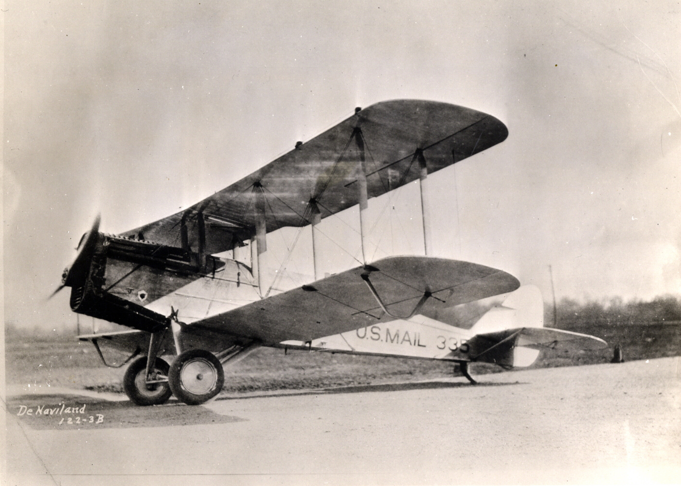 de Havilland airmail plane