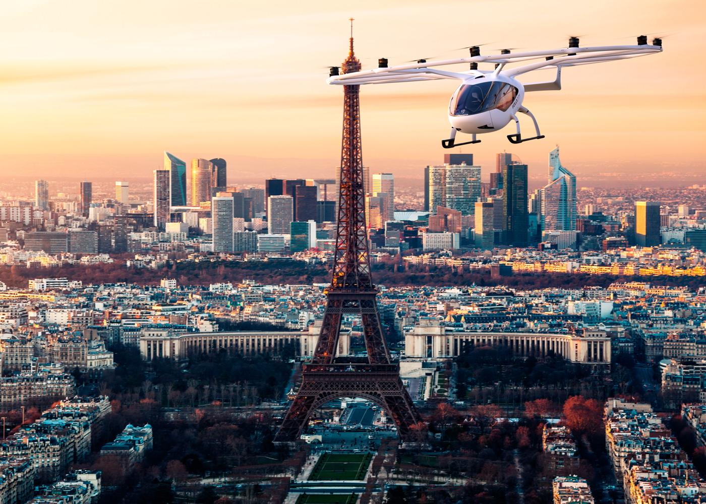 VoloCity Paris urban air mobility