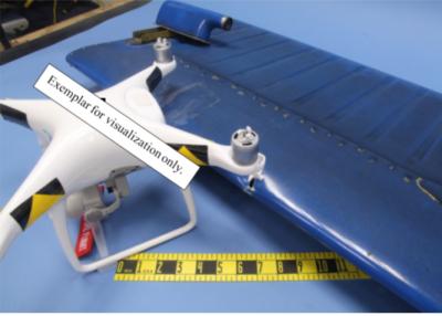 NTSB image of drone strike