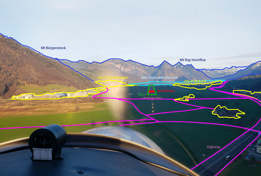 Daedalean visual positioning system