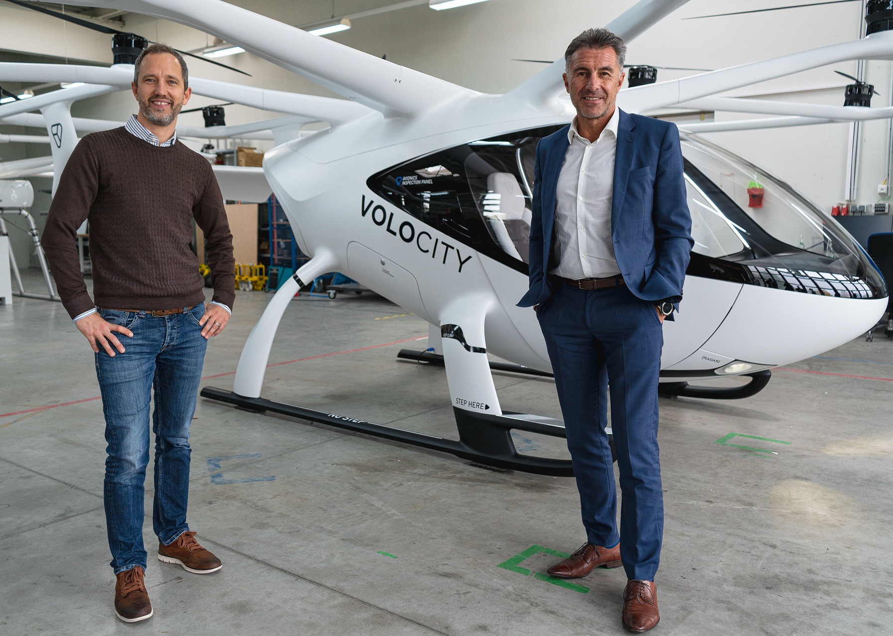 Volocopter and Lufthansa Industry Solutions VoloIQ