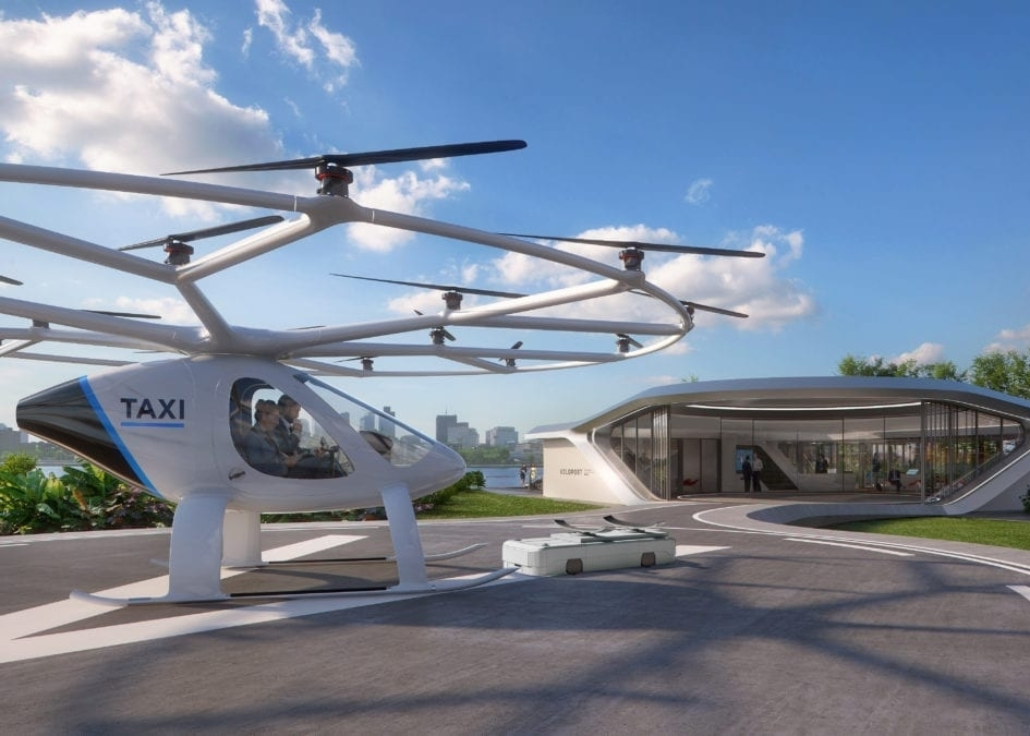 Volocopter Skyports