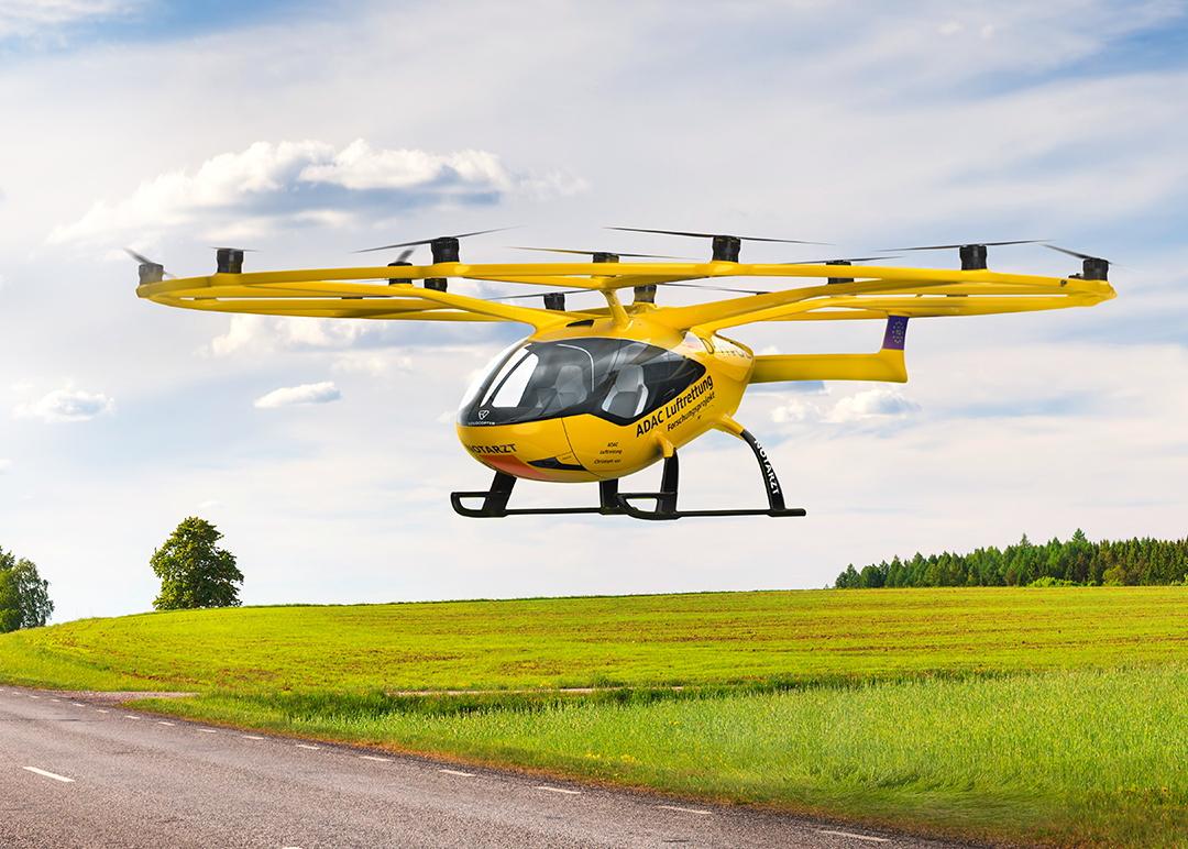 ADAC Luftrettung Volocopter EMS eVTOL