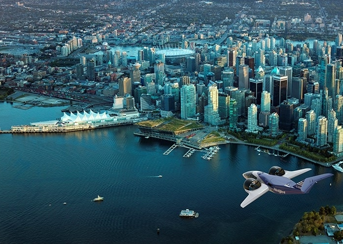 Vancouver advanced air mobility Helijet