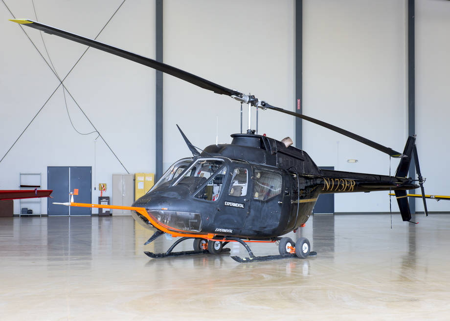 NASA AAM dry run helicopter