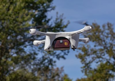 UPS drone delivery with Matternet M2