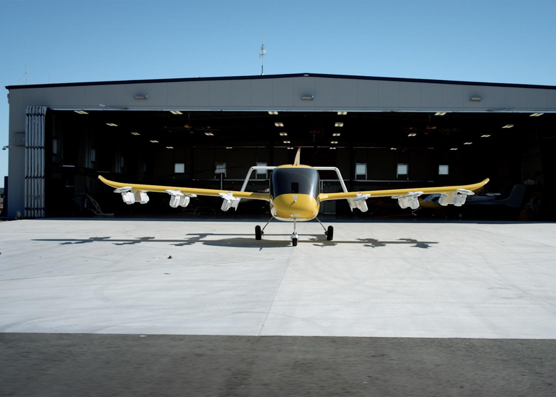 Wisk's Cora hangar