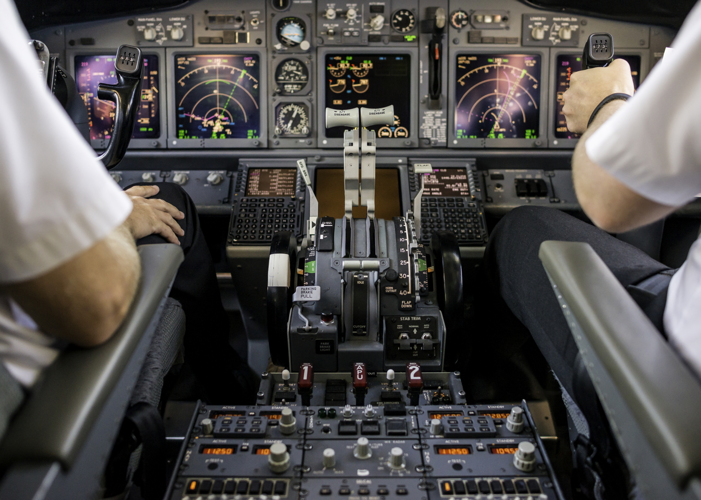 Boeing 737 cockpit automation