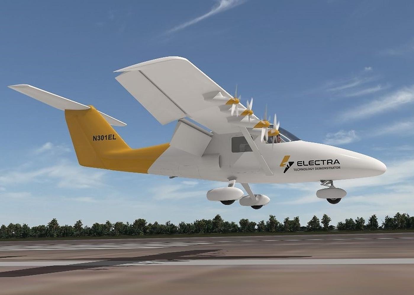 Electra.aero eSTOL tech demonstrator