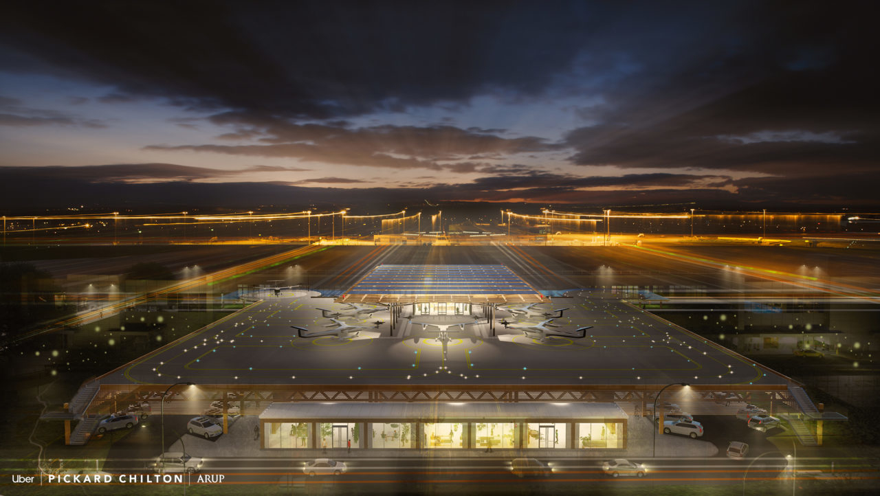 Uber Skyport by Pickard Chilton Arup