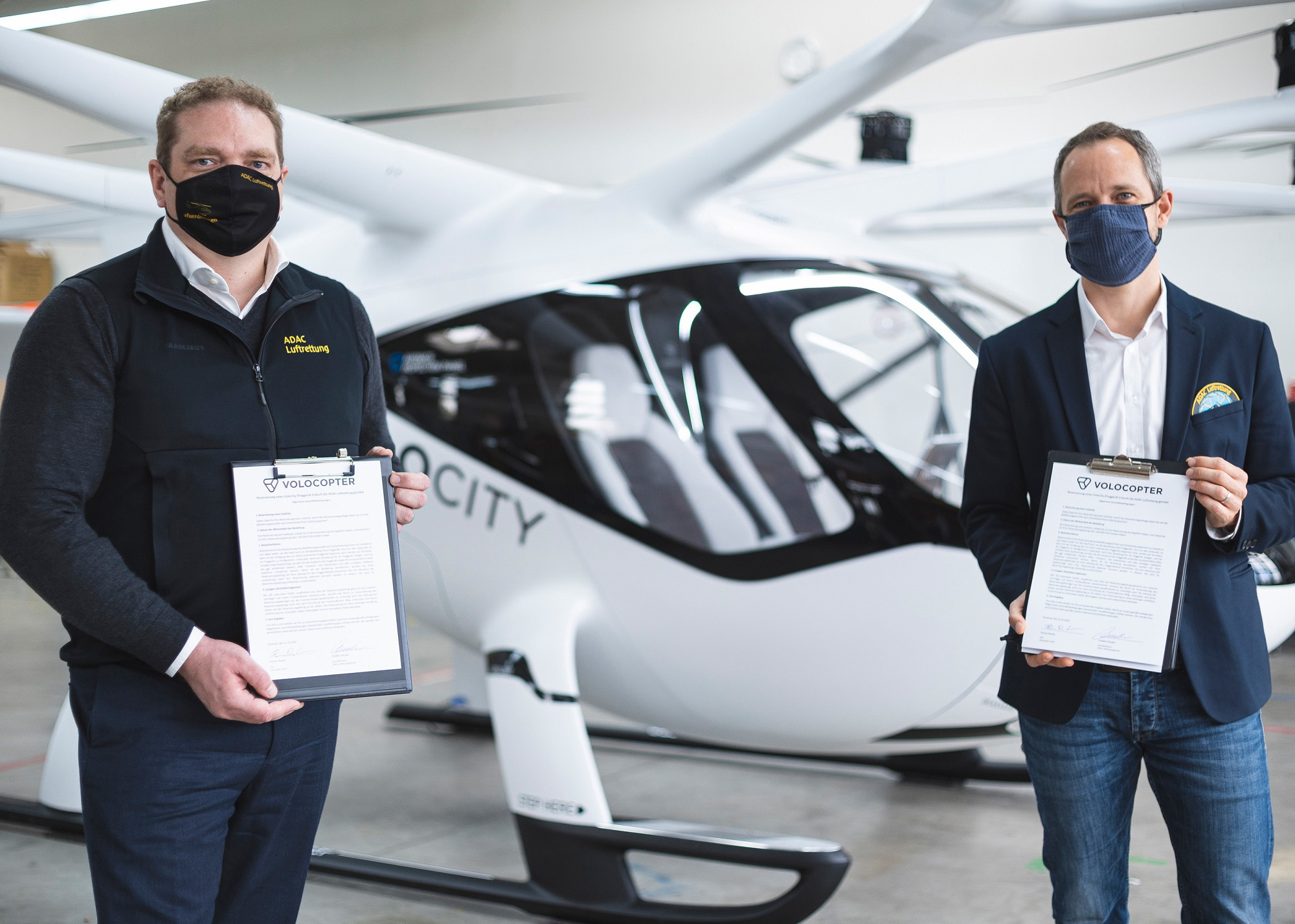 Volocopter sale to ADAC Luftrettung