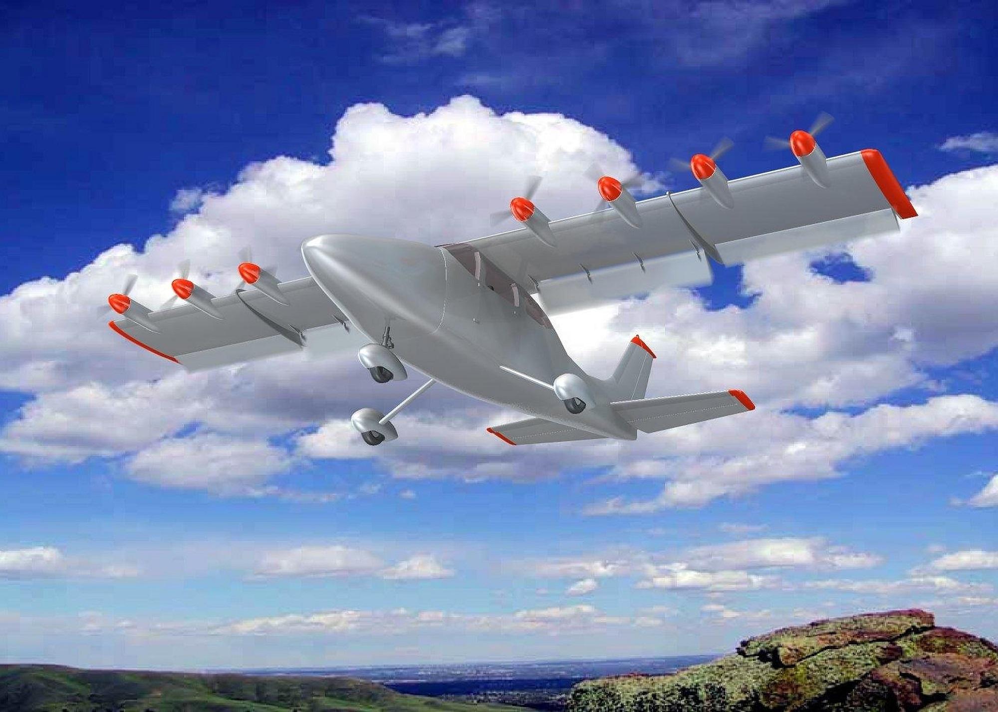 Airflow Cessna 210 eSTOL conversion