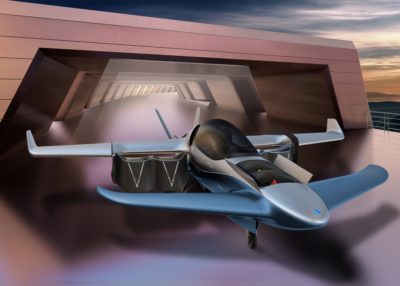 Manta Aircraft ANN2 hangar rendering