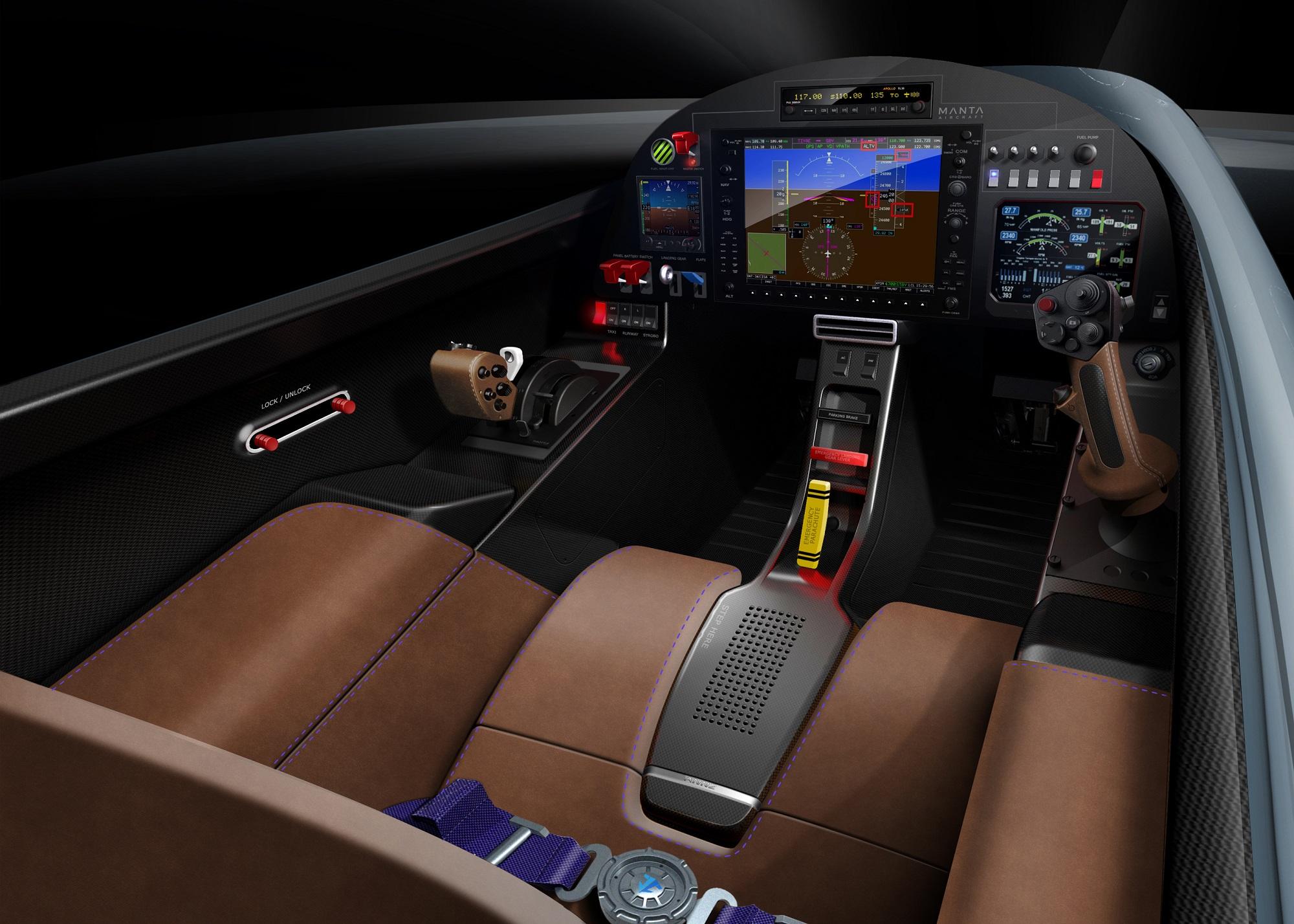 Manta Aircraft ANN2 interior