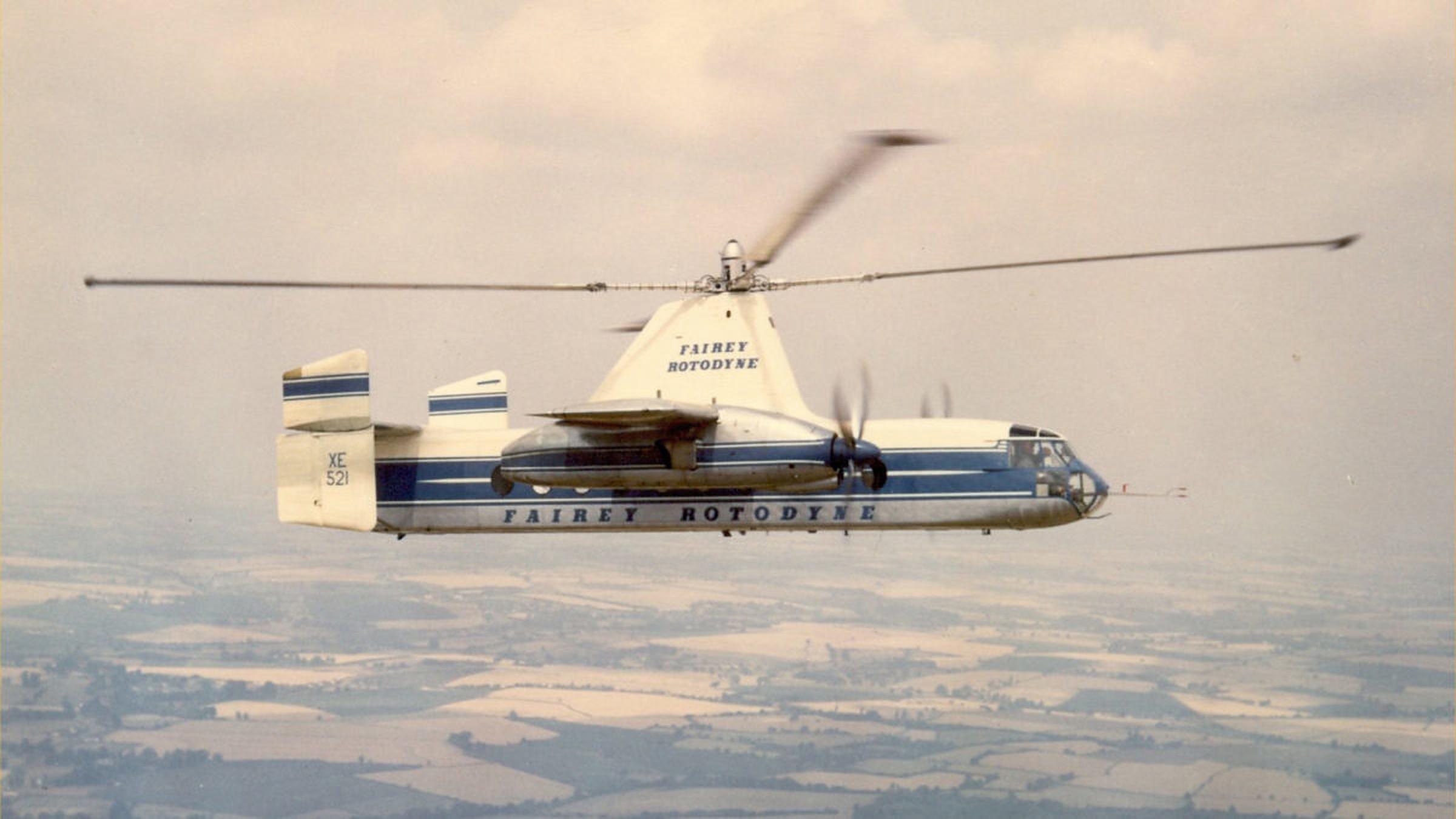 Fairey Rotodyne Skybus