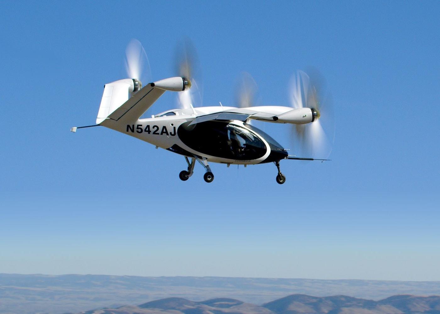 Joby Aviation eVTOL in flight