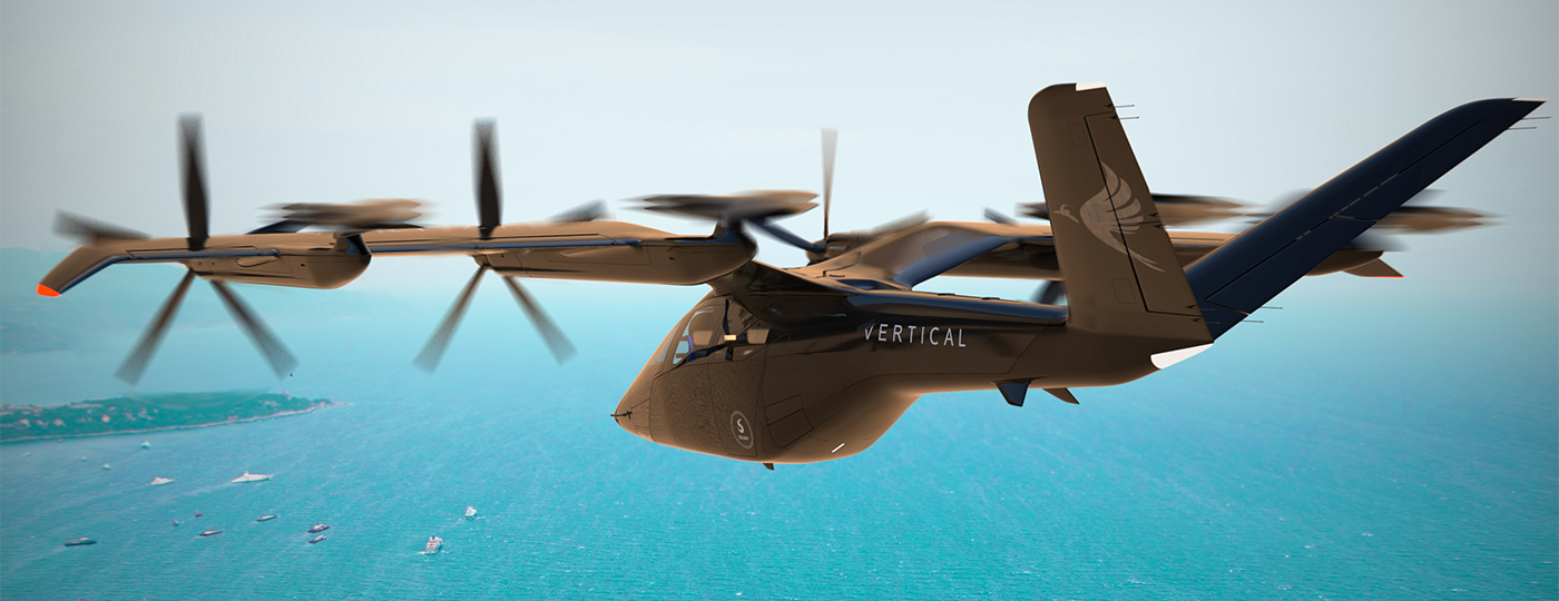 Vertical Aerospace VA-X4 lake