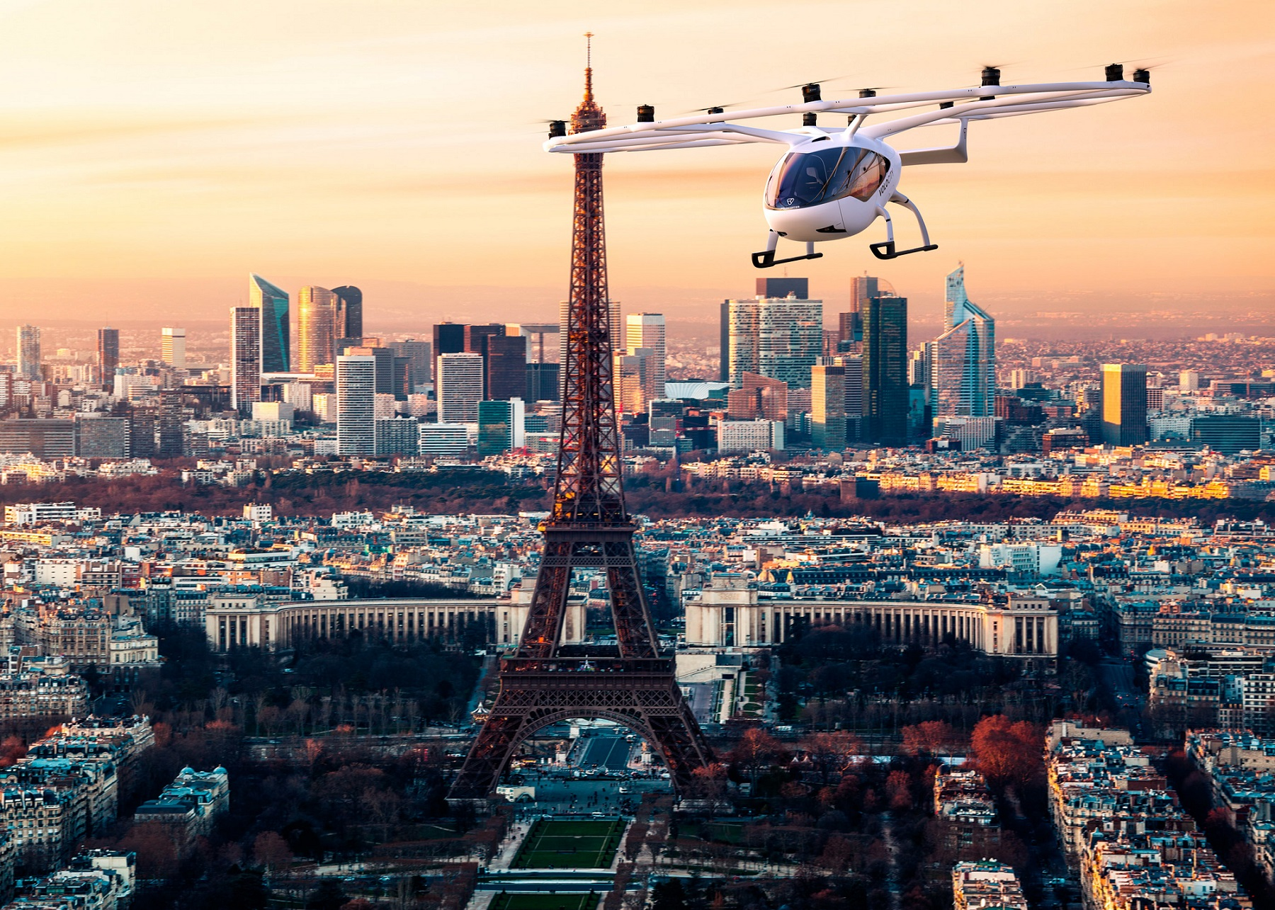 Volocopter Paris