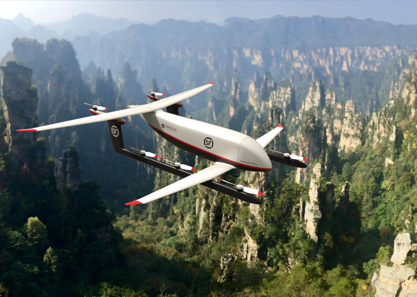 Pipistrel SF Express VTOL cargo drone