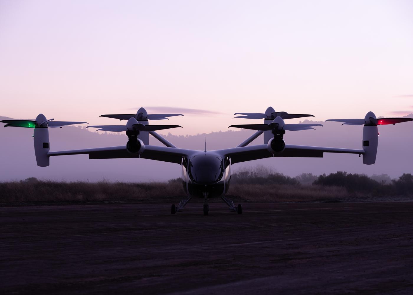 Joby Aviation RTP eVTOL