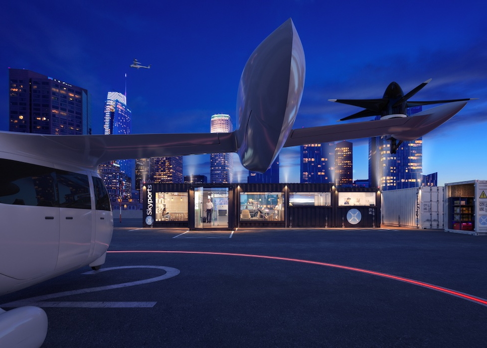 Skyports vertiport