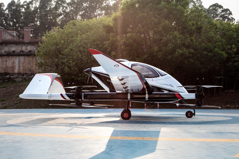 EHang VT-30 eVTOL