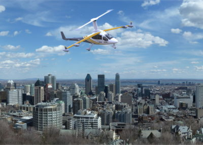 Jaunt Journey eVTOL Quebec