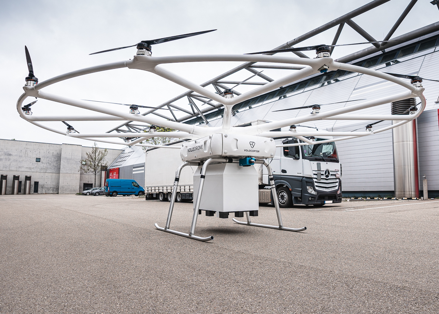 Volocopter VoloDrone with Near Earth Autonomy