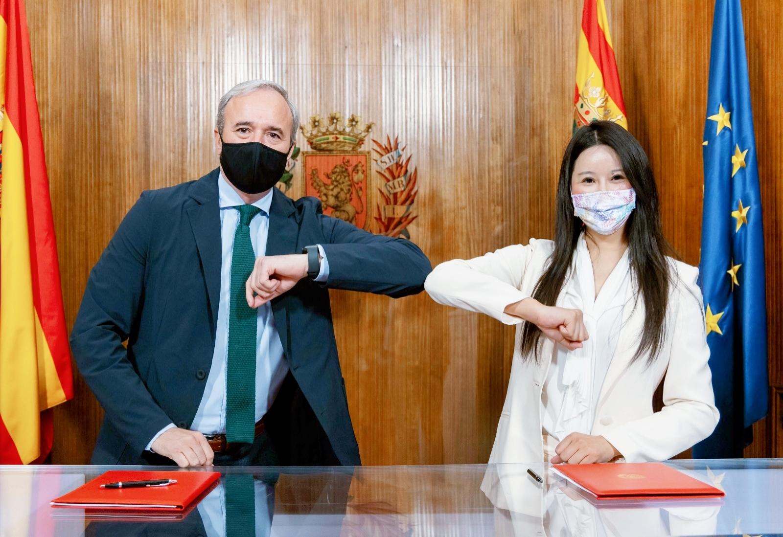EHang Zaragoza signing agreement