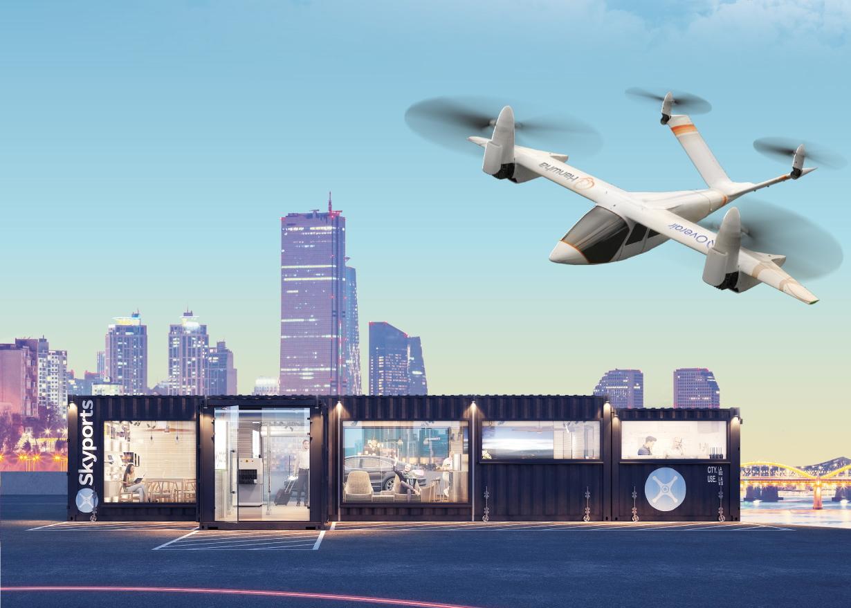 Skyports Hanwha Systems