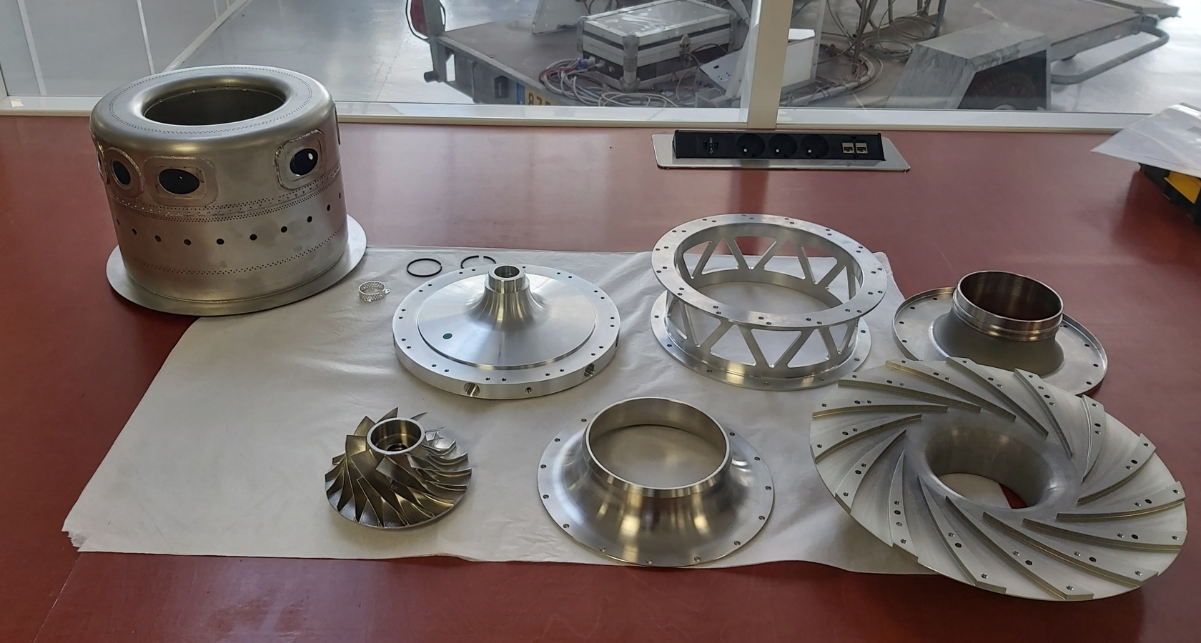 Turbotech engine components