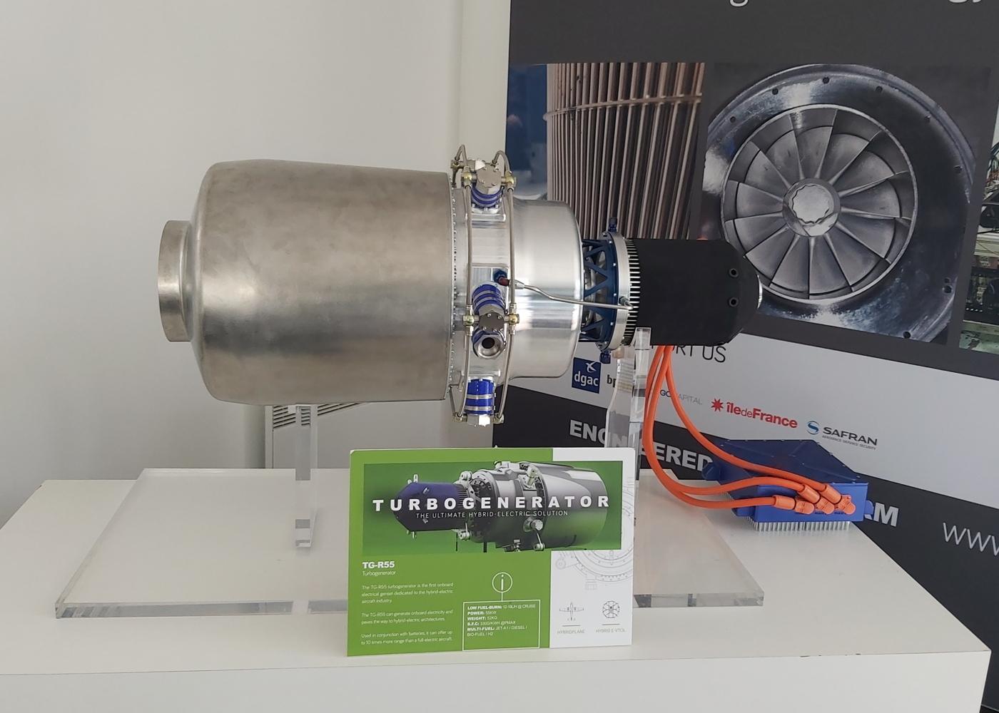 Turbotech TG-R55 turbogenerator