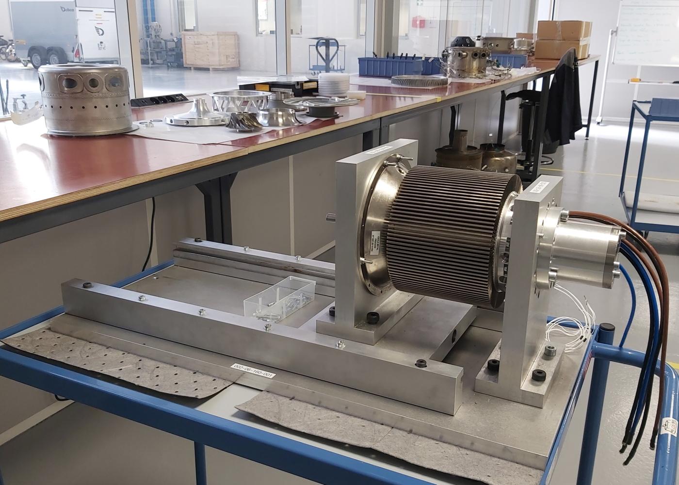 Turbotech generator test bench