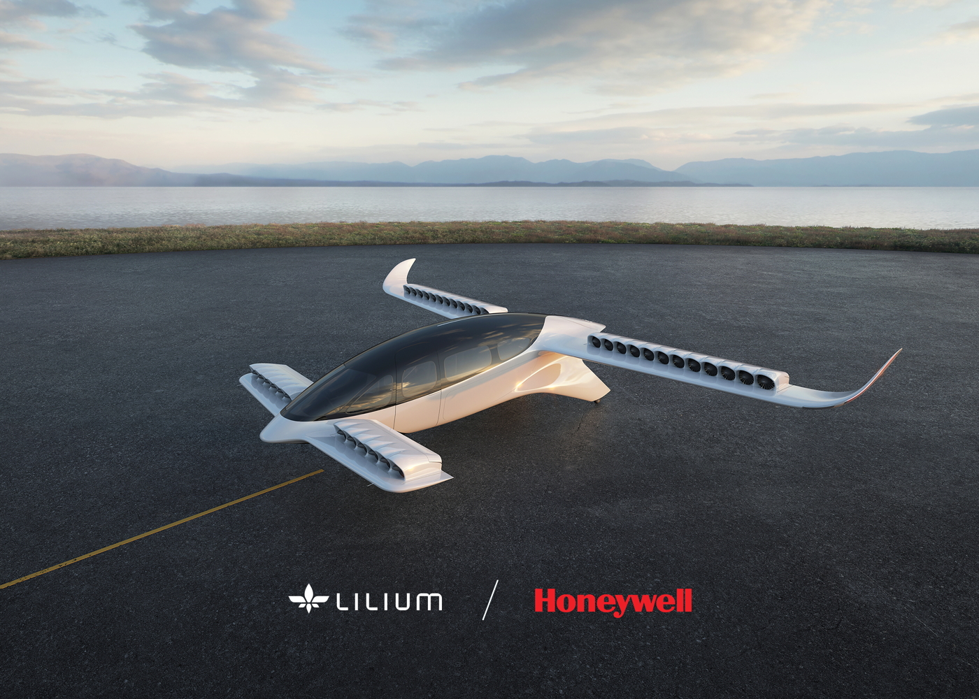 Lilium Jet Honeywell