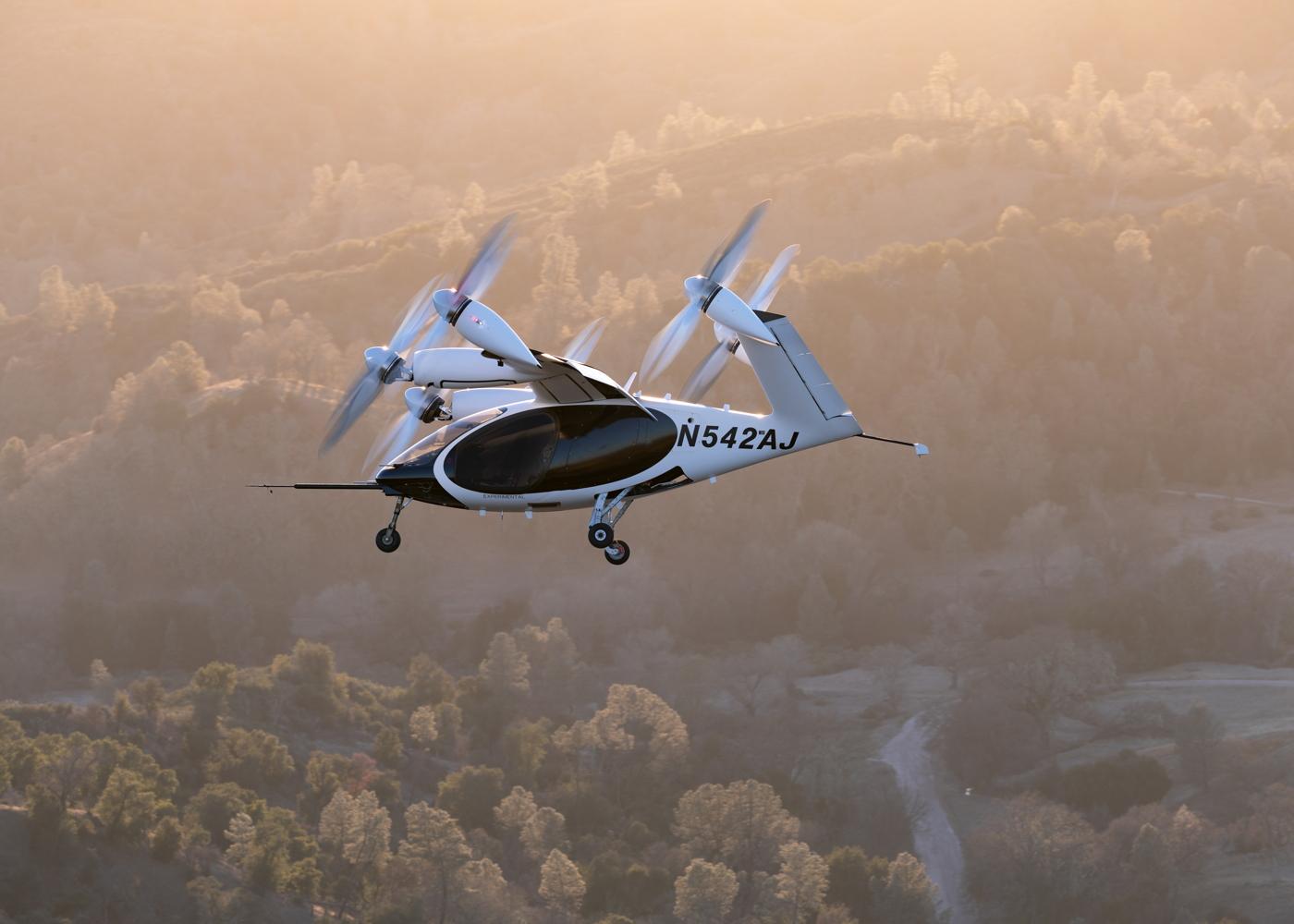 Joby eVTOL in flight