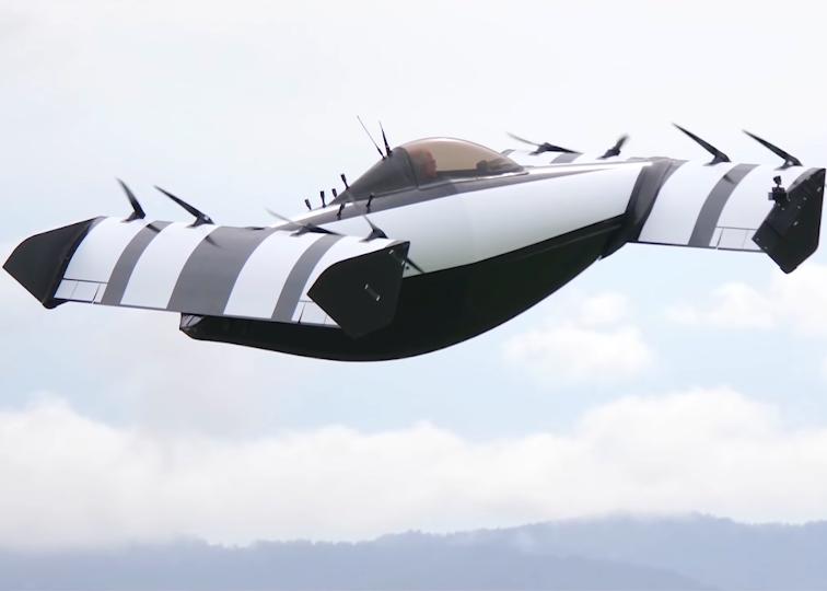 Opener BlackFly in flight