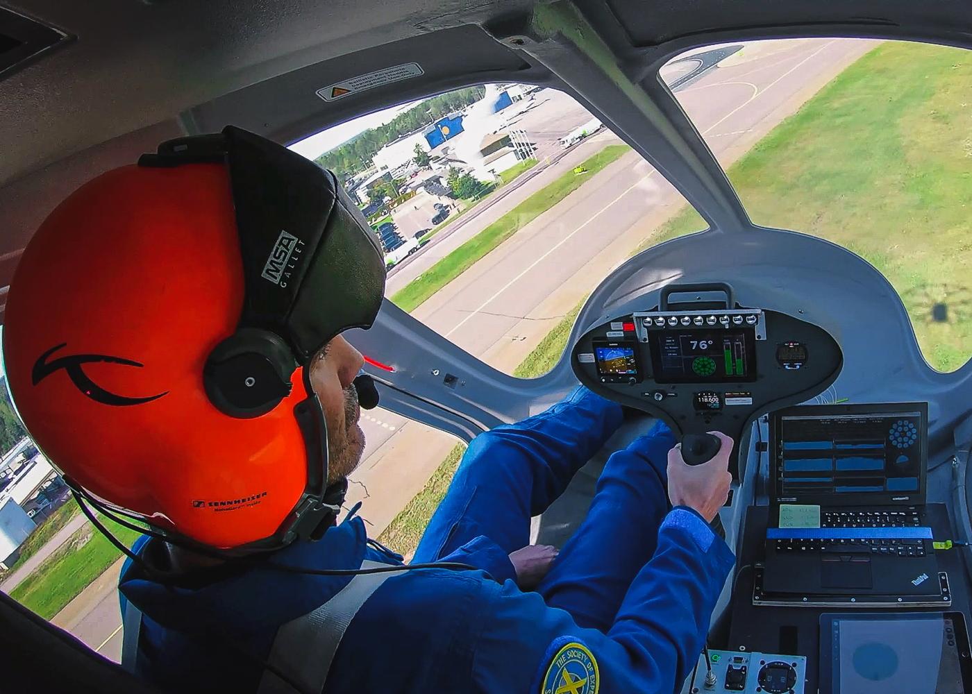 Volocopter eVTOL pilot
